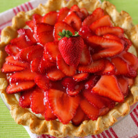 Strawberry Coconut Cream Pie