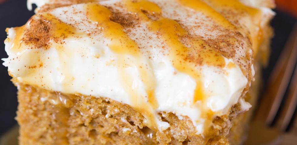 Pumpkin Spice Latte Snack Cake