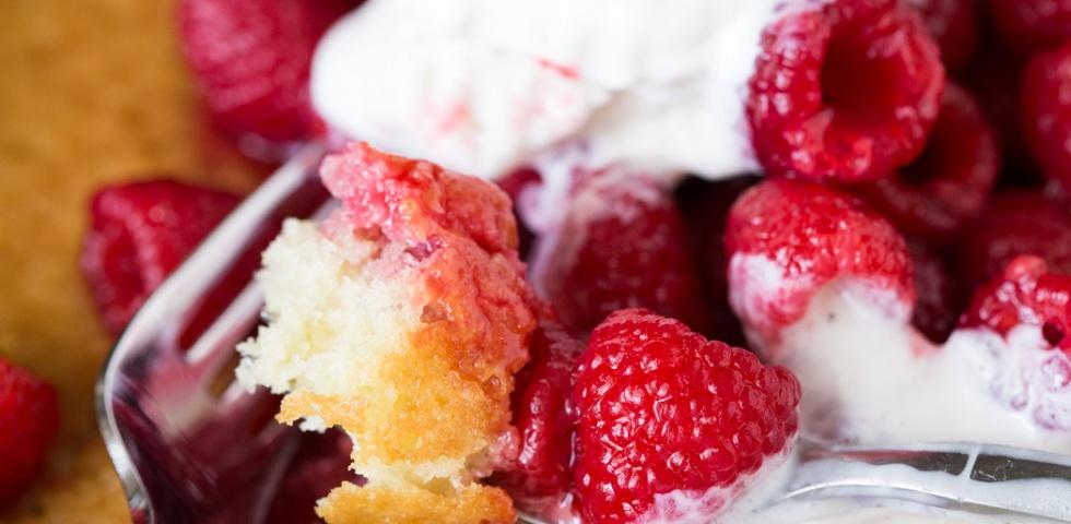 Raspberry Hot Cake